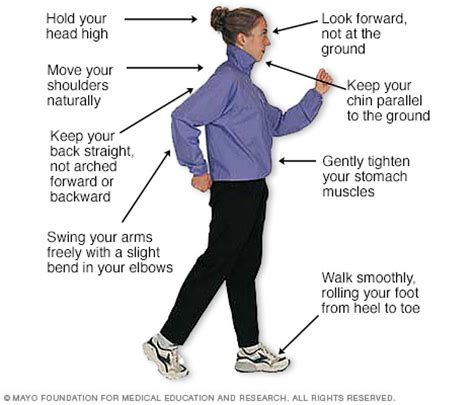 how to walk a walking at work