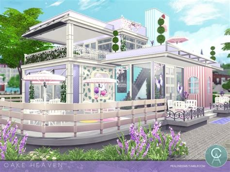 heaven house the sims resource cake heaven house by pralinesims sims 4 downloads