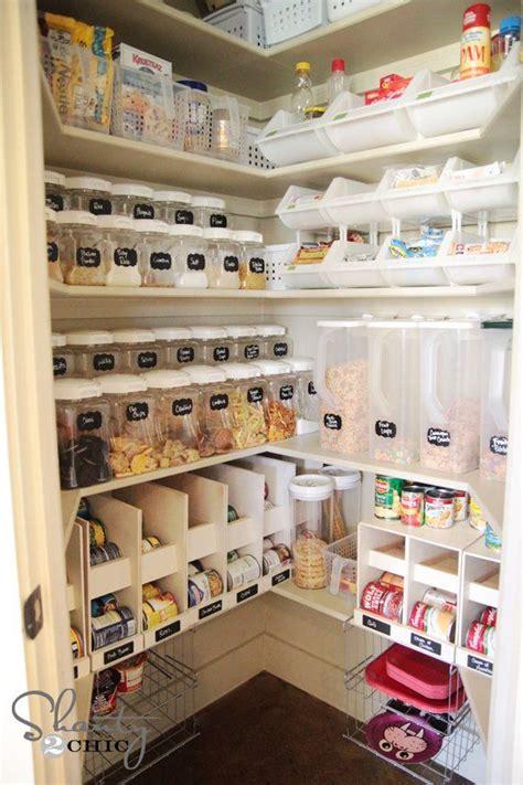 kitchen food storage ideas best 25 corner pantry organization ideas on