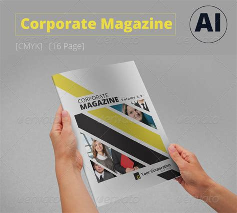 20 corporate magazine designs psd vector eps jpg