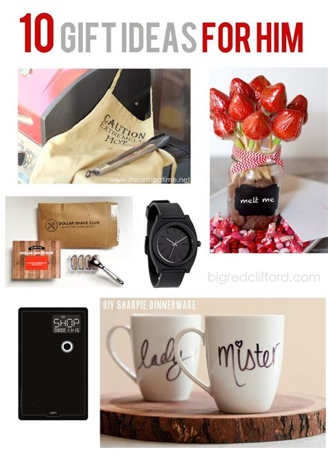 ideas for gift ideas for him husband dad men
