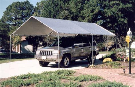 Tarp Garages by Exceptional Tarp Garage 7 Portable Canvas Carport Canopy