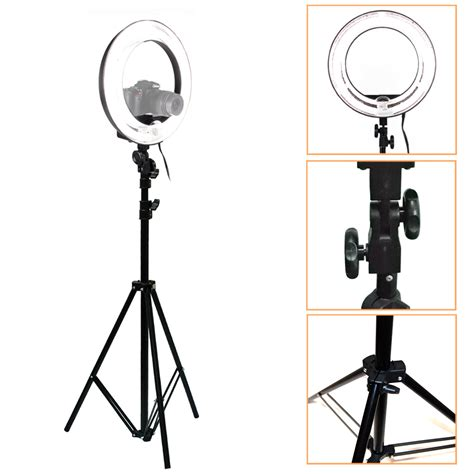 ring light for video camera 18 quot camera adjustable video studio photography ring light