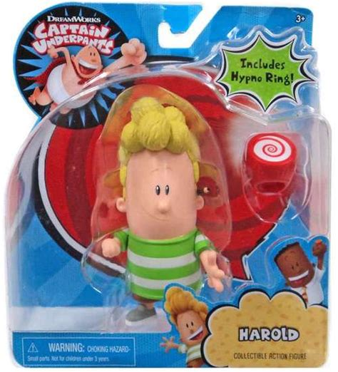 epic film toys captain underpants harold action figure includes hypno