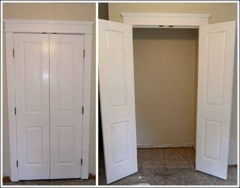 Narrow Double Closet Doors Narrow Closet Doors