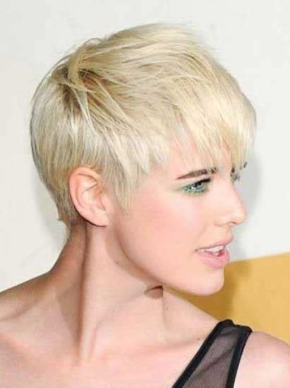 short blonde haircuts images the most popular short feminine hairstyles