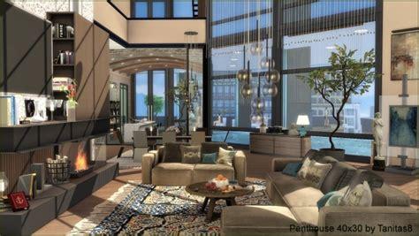 Penthouse 40x30 At Tanitas8 Sims 187 Sims 4 Updates
