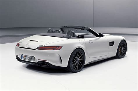 C 50 Pcs mercedes amg gt c roadster edition 50 heads trio of