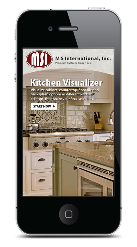 m s international inc launches kitchen visualizer app for iphones and ipads