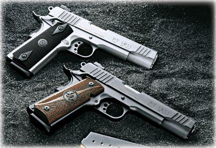 taurus pt1911 .45acp handgun review – another look