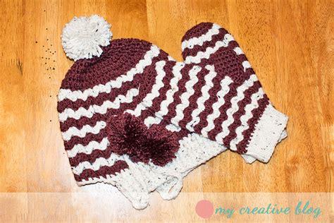 zig zag mitten pattern zigzag mittens crochet pattern my creative blog