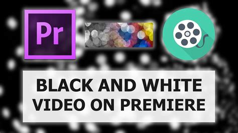 adobe premiere pro black and white adobe premiere pro black white effect tutorial youtube