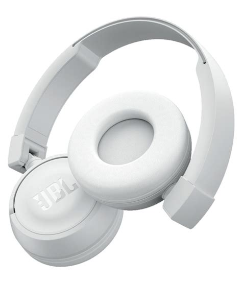 Jbl T450bt Wireless Headphone White jbl t450bt on ear wireless headphones with mic white buy