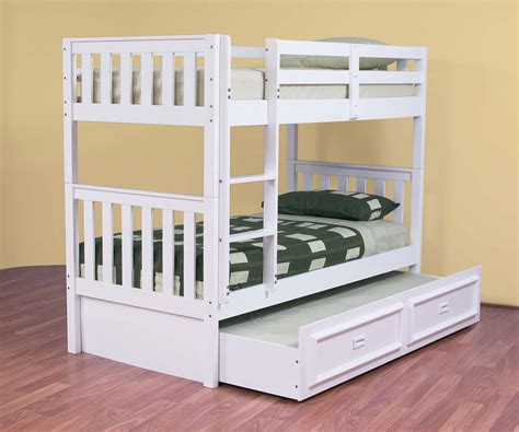 White Bunk Beds Australia White Trundle Bunk Bed Thenextgen Furnitures Make A Cover Trundle Bunk Bed