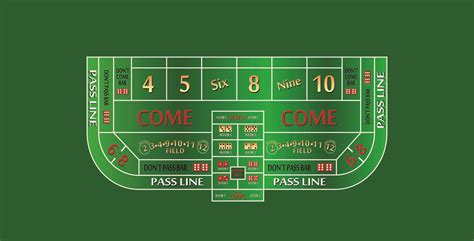 different craps table layouts no deposit bonus codes