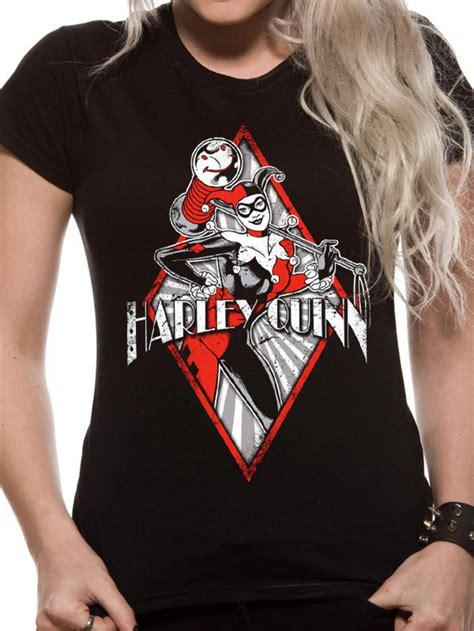 harley quinn diamond logo  shirt tm shop