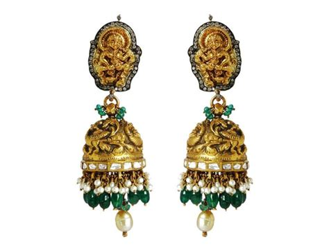 collection of temple jewellery karni jewellers