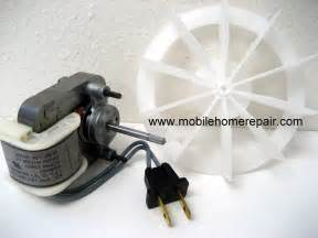 bathroom fan motors exhaust fans mobile home repair