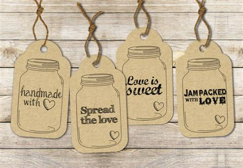jar tags template 9 best images of jar hang tags printable jar