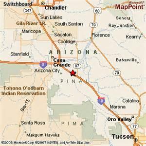 eloy arizona map eloy arizona