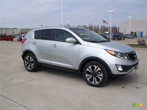 Bright Silver 2011 Kia Sportage Sx Awd Exterior Photo