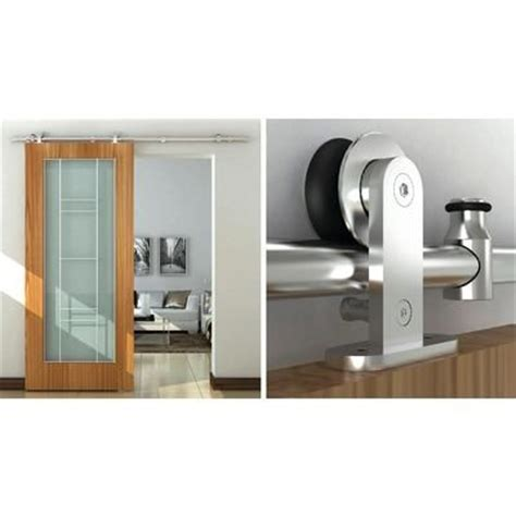 Barns Home Depot And Doors On Pinterest Barn Door Track System Home Depot