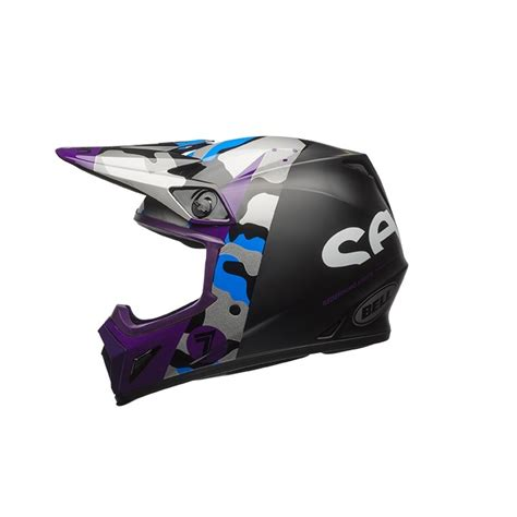 purple motocross helmet bell mx 9 seven soldier mx helmet purple available at