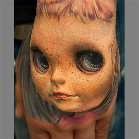 these 3d tattoos are really awesome and kinda creepy