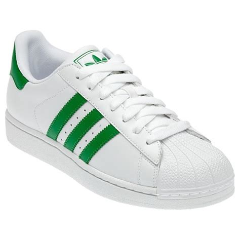 Adidas Originals Adidas Leather Green P 729 by Adidas Originals Superstar 2 Ii W S Sneakers Shoes