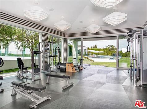 celebrity home gyms 11 things you ll find in every celebrity home