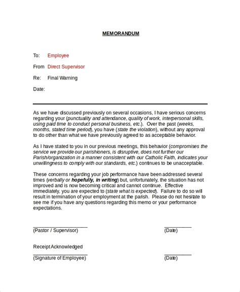 memo to staff template memorandum sle for employee letters free sle letters