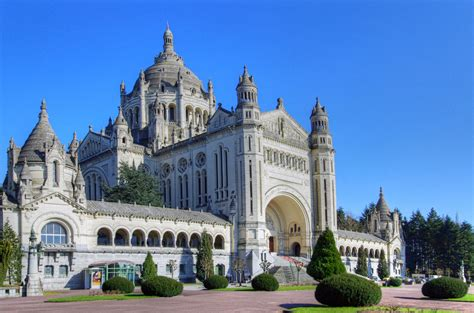 st therese basilica lisieux france shrines of france glory tours