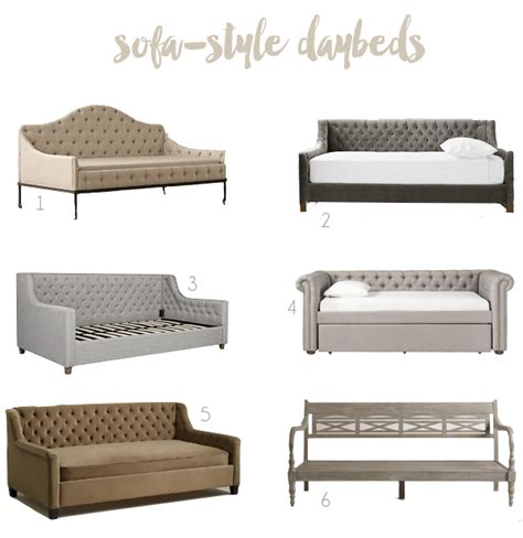 Beds That Look Like Sofas Sofa Style Daybeds Thesofa