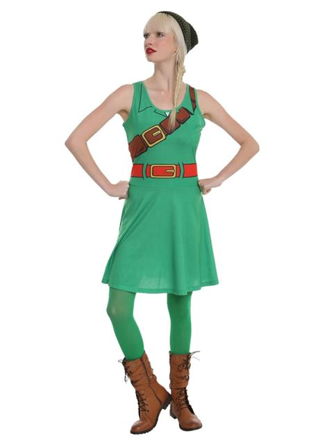 zelda pattern dress nintendo the legend of zelda link costume dress hot