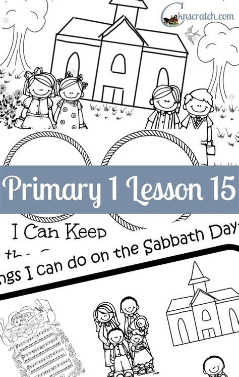 sabbath day coloring pages