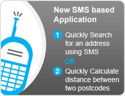 Search Distance Between Two Addresses Sms Application To Quickly Lookup An Address Get The