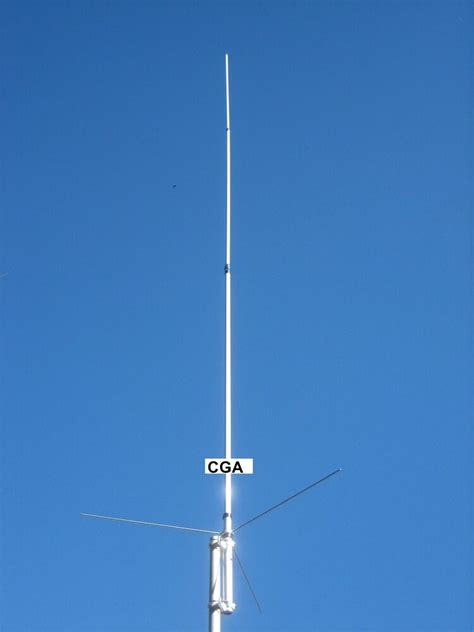 vhf uhf 144 440 dual band collinear base antenna uvs300 ebay