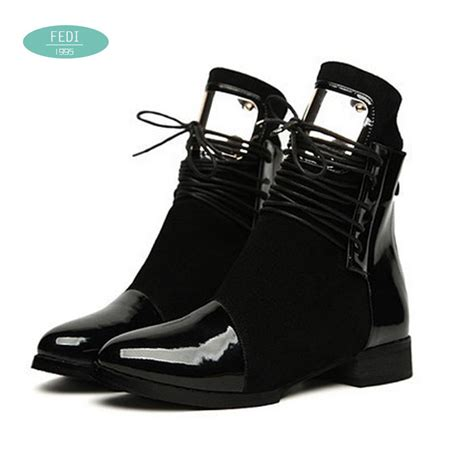 genuine leather boots womens aliexpress buy 35 43 boots genuine leather flat martin ankle boots womens motorcycle