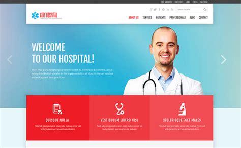blogger templates for hospital top 4 beautiful and easy to use joomla medical templates