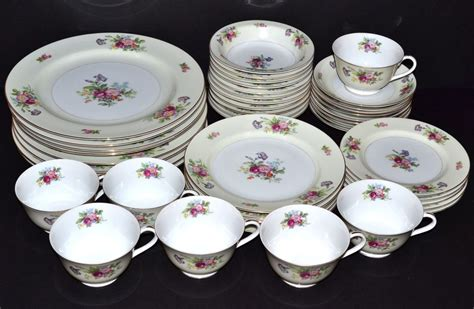 vintage china 55 vintage dinnerware sets dawn rose pink floral japan