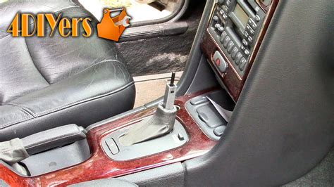 diy volvo automatic shifter knob removal youtube