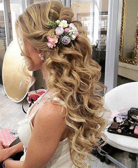 bridal hair half up side 15 bridal hair half up hairstyles haircuts 2016 2017