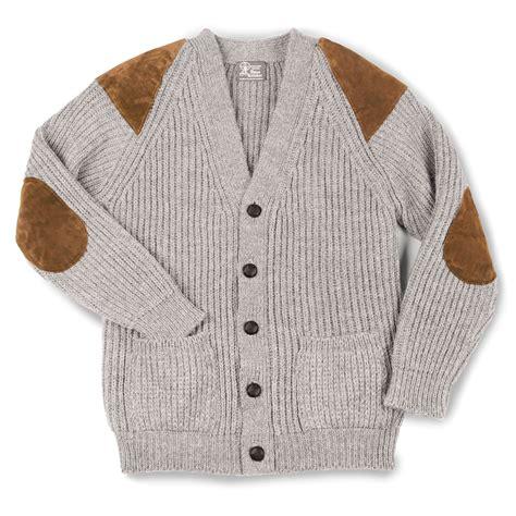 the black welsh wool sweater hammacher schlemmer