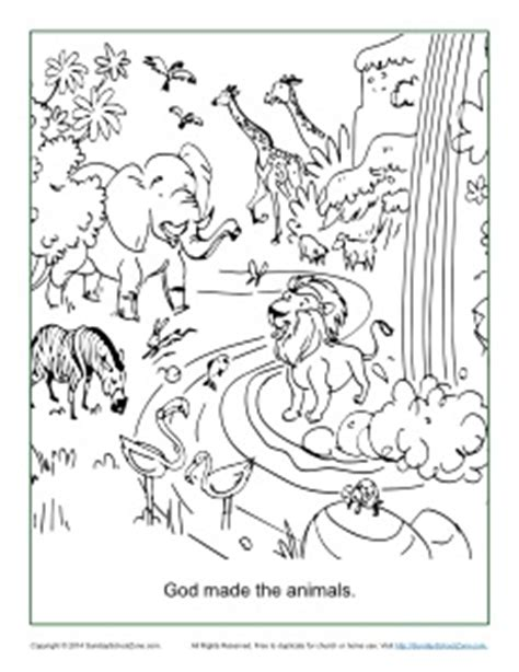new creations coloring book series winter books god made the animals coloring page