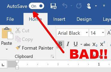 why i turned off word's autosave feature in office 365 cnet