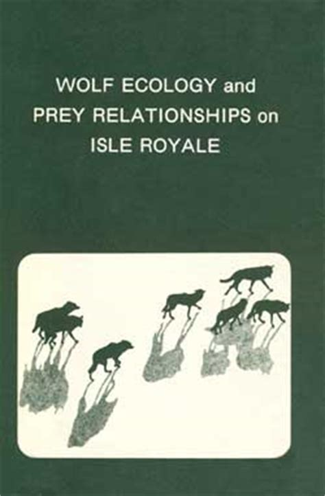 relationships r us books wolf ecology and prey relationships on isle royale