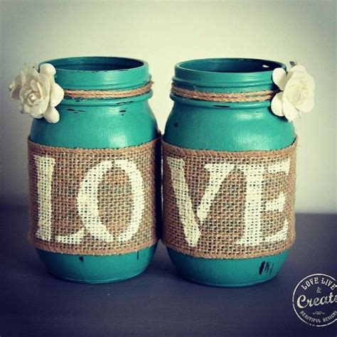 chalk paint jars customized jars diy home decor hometalk