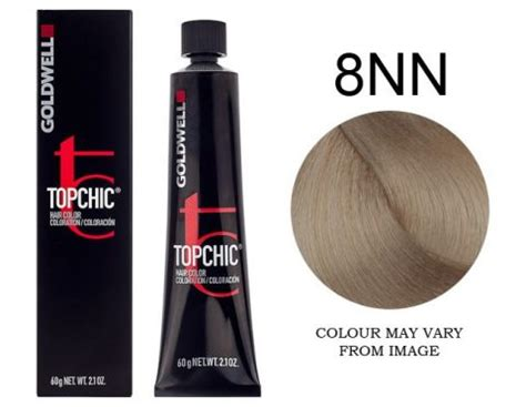 8nn hair color goldwell topchic 8nn light 60g hair