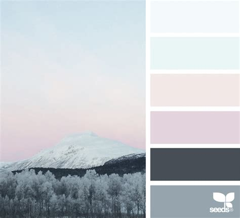 winter color schemes color chill design seeds
