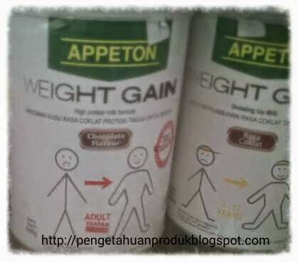 Appeton Weight Gain Di Pasaran harga appeton weight gain terlengkap bulan ini